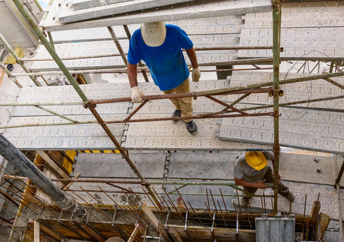 travail - Hauteur - risque - accident -chute en hauteur