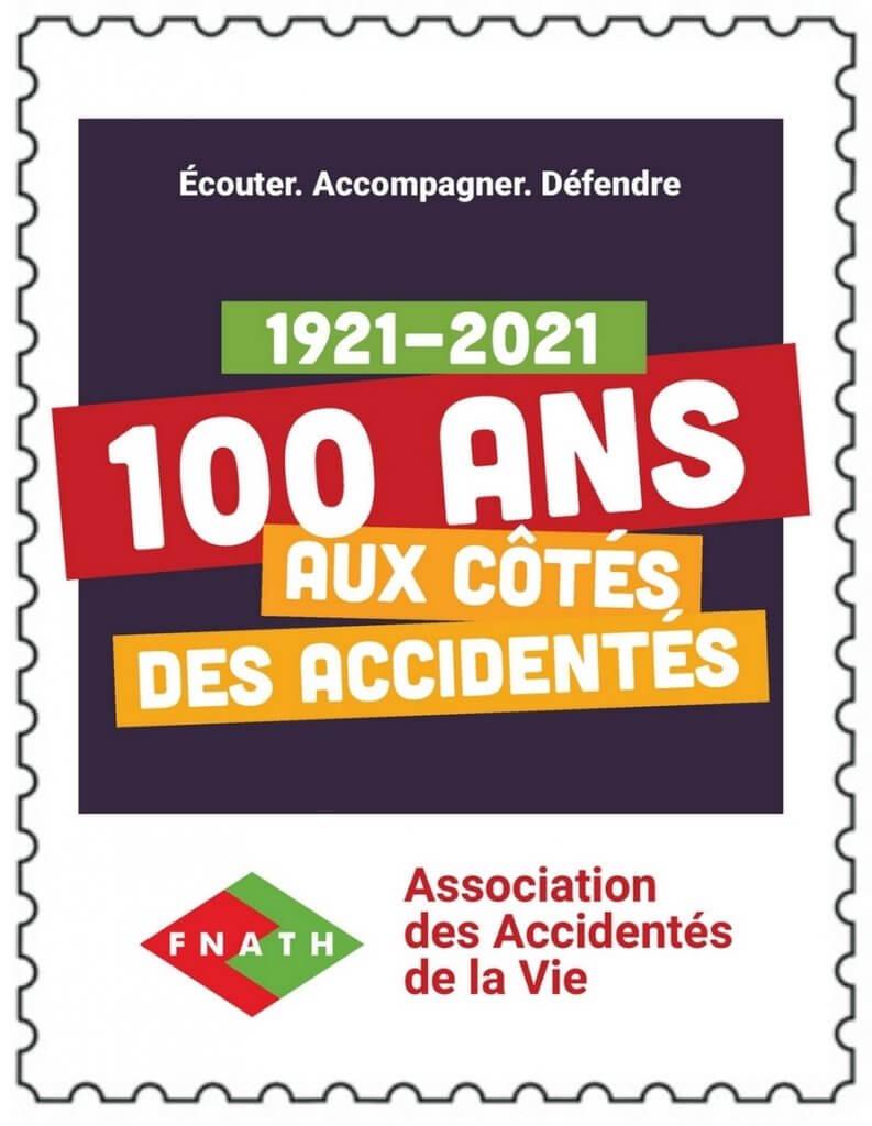 Timbres - Logo 100 ans